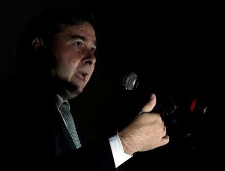 Presidente da Câmara, Rodrigo Maia (DEM-RJ) 19/04/2018 REUTERS/Paulo Whitaker