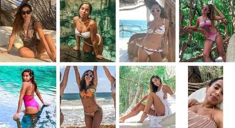 Looks de praia da Anitta (Fotos: @anitta/Instagram/Reprodução)