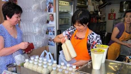 Laticínios podem fazer com que muitas pessoas se sintam doentes na Ásia, onde o traço da persistência da lactase é incomum