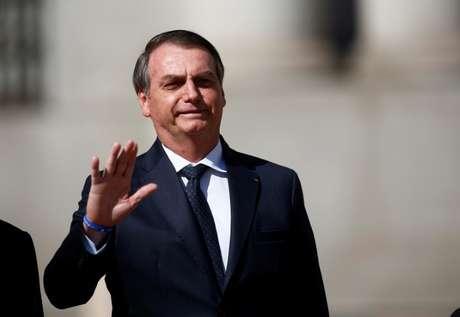 Presidente Jair Bolsonaro em Santiago 22/03/2019 REUTERS/Esteban Garay