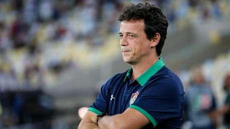 Fernando Diniz deu os méritos da vitória para o Flamengo (Foto: LUCAS MERÇON / FLUMINENSE F.C.)