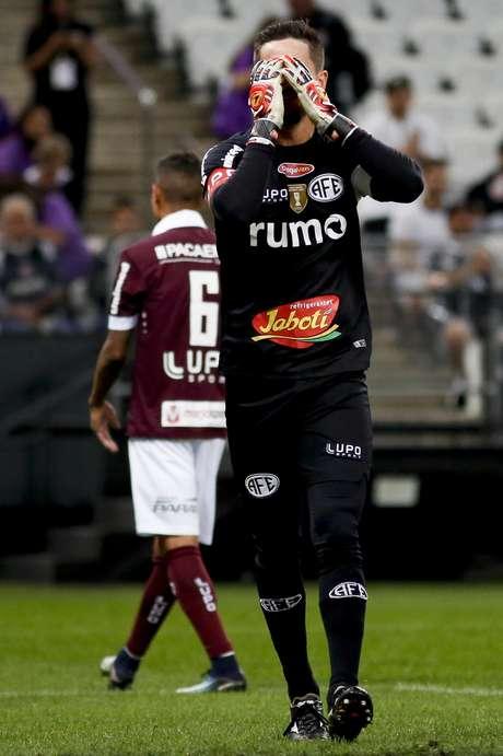 Tadeu durante o jogo entre Corinthians e Ferroviária realizado no Arena Corinthians, Zona Leste de São Paulo. A partida é a segunda válida pelas Quartas de Final do Paulistão 2019.