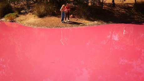 O fenômeno pode ser observado em outros lagos cor de rosa na Austrália, Espanha, Canadá e Senegal