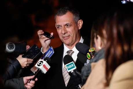 O porta-voz da Presidência da República, general Rêgo Barros