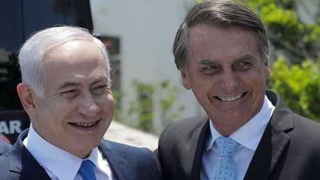 O primeiro-ministro de Israel, Benjamin Netanyahu, visitará o Muro das Lamentações com o presidente Jair Bolsonaro