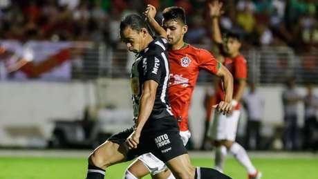 Ricardo Oliveira não conseguiu deixar sua marcar e tirar o zero do placar para o Galo- Bruno Cantini / Atlético MG