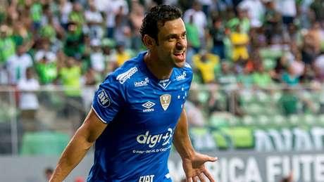 Fred não marcava três gols em um jogo desde a época que jogava no rival Atlético-MG- Fábio Barros/Agência F8/Lancepress!
