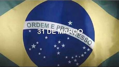 Reprodução do vídeo divulgado pelo Whatsapp oficial do Planalto