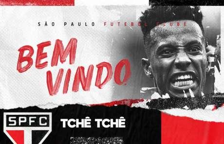 (Foto: São Paulo/Twitter/Reprodução)