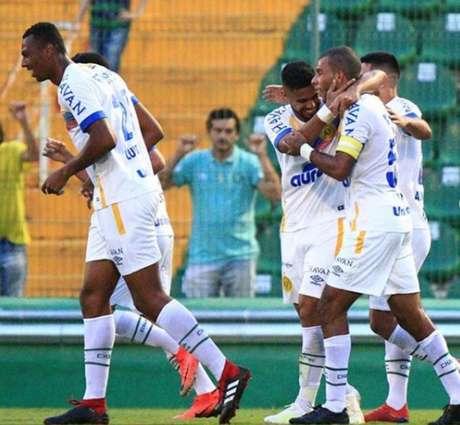 Chapecoense luta pela liderança da competição (Foto: Divulgação/Chapecoense)
