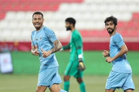 Diogo Acosta marcou o segundo gol do Dibba sobre o Al Nasr (Divulgação)