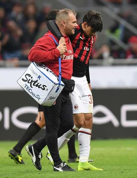 Paquetá se machucou durante o empate entre Milan e Udinese