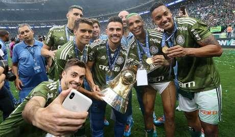 Palmeiras é o atual campeão brasileiro e ainda não acertou com a TV Globo (Foto: Divulgação)