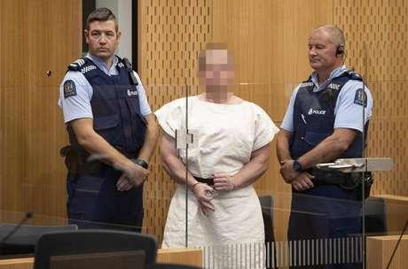 Terrorista da N.Zelândia responderá 50 acusações de homicídio
