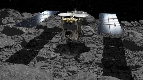 A sonda japonesa Hayabusa-2 parece ter cumprido a missão de detonar explosivos no asteroide Ryugu