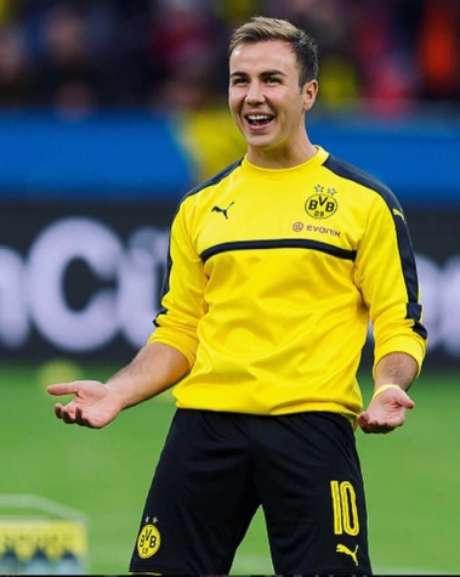 Goetze é um dos destaques do Dortmund (Foto: AFP)