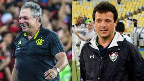 Alexandre Vidal/Flamengo e MAILSON SANTANA/FLUMINENSE FC.