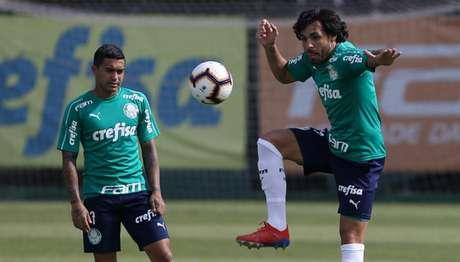 Palmeiras de Dudu e Ricardo Goulart chegará à final se vencer Choque-Rei no Allianz (Agência Palmeiras/Divulgação)