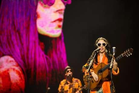 Os Tribalistas formado por Arnaldo Antunes, Carlinhos Brown e Marisa Monte, no primeiro dia do Lolla