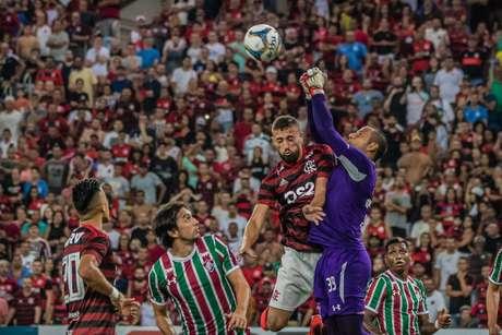 FLAMENGO X FLUMINENSE - partida válida pela semifinal do Campeonato Carioca 2019, no estádio Jornalista Mário Filho (Maracanã)