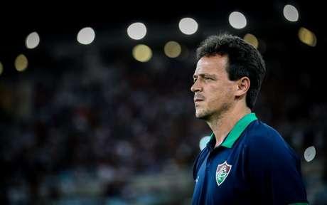 Treinador falou após eliminação do Campeonato Carioca (Foto: LUCAS MERÇON / FLUMINENSE F.C.)