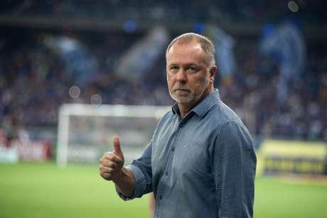 Mano ficou satisfeito com o time diante do América-MG, mas rechaça favoritismo na final- Vinnicius Silva/Cruzeiro