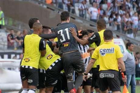 Atlético teve grande atuação no Mineirão (Foto: Alessandra Torres/Eleven)