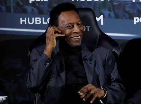 Pelé durante evento em Paris 02/04/2019 REUTERS/Christian Hartmann