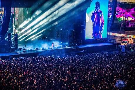 Kendrick Lamar tocou no último dia do Lollapalooza