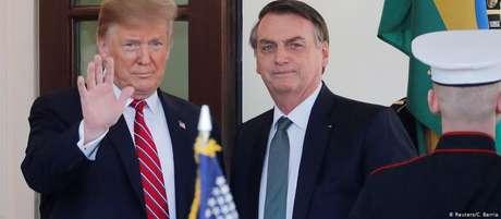 Bolsonaro disse que fez proposta de exploração a Trump
