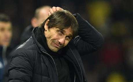 Conte está sem emprego desde que deixou o Chelsea (Foto: Glyn Kirk / AFP)