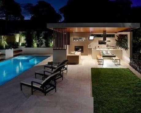 52 – Edícula com piscina. Fonte: Decor Fácil