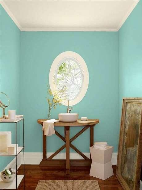 1. A cor verde água é tendência na moda e na decoração – Foto: Pinterest