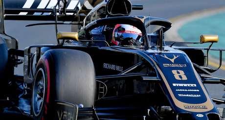 Grosjean espera que a Haas se recupere na China