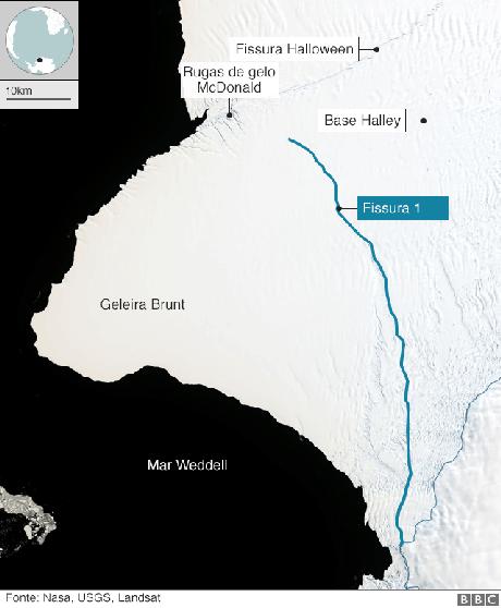 geleiras Brunt