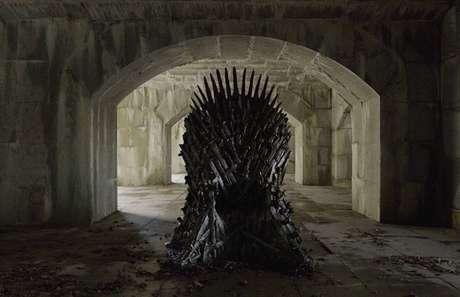 Trono de Ferro de 'Game of Thrones'.