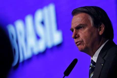Presidente Jair Bolsonaro durante evento em Brasília 09/04/2019 REUTERS/Adriano Machado