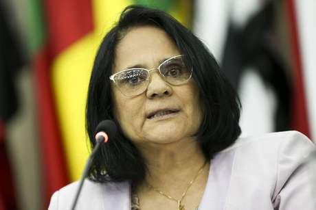 A ministra da Mulher,Família e Direitos Humanos, Damares Alves