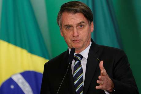 Presidente Jair Bolsonaro durante cerimônia no Palácio do Planalto 09/04/2019 REUTERS/Adriano Machado