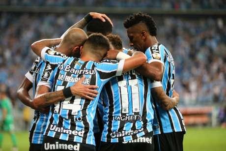 Grêmio conseguiu importante resultado para seguir vivo na Liberta Foto: (Itamar AGUIAR / AFP)
