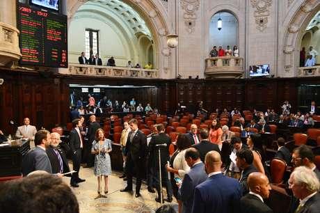 Audiência realizada na Assembléia Legislativa do Rio de Janeiro (Alerj), Centro do Rio