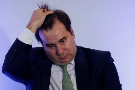 Presidente da Câmara, Rodrigo Maia 08/04/2019 REUTERS/Adriano Machado
