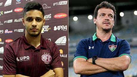 Léo Artur e Fernando Diniz voltarão a trabalhar juntos (Foto: Reprodução)