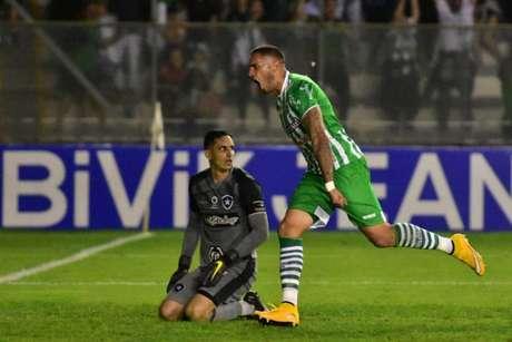 Gatito não teve culpa nos dois gols do Juventude (Foto: Divulgação/Twitter Juventude)