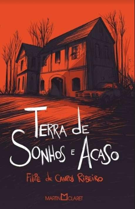 A capa da obra: muito a ver com a realidade conturbada retratada na novela das 21h da Globo