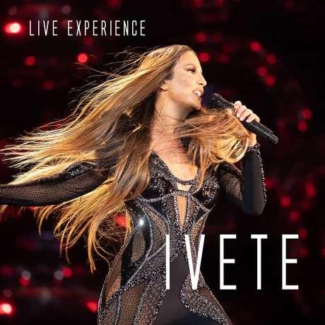 Capa do projeto 'Live Experience', de Ivete Sangalo