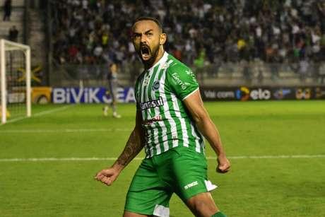 Dalberto marcou o gol que classificou o Juventude nos acréscimos da partida (Arthur Dallegrave/E.C.Juventude)