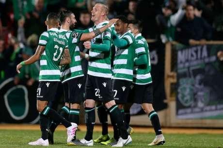 Sporting venceu mais uma neste domingo (FOTO: Divulgação/Twitter)