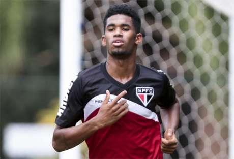 Novo atacante do Fluminense, Ewandro é cria da base do São Paulo (foto Ale Cabral)