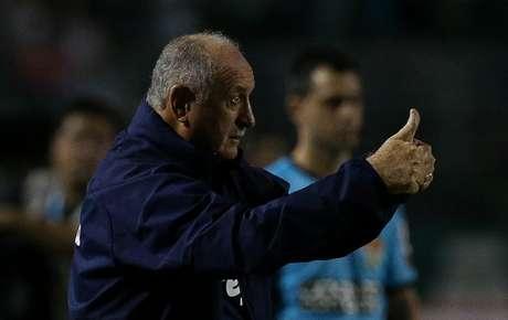 Fora da final do Paulista, Felipão deu folga tripla aos seus comandados (Cesar Greco/Agência Palmeiras/Divulgação)